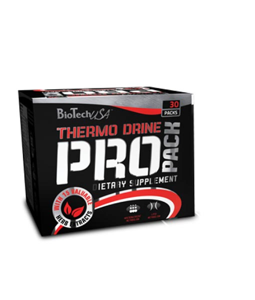BioTech – THERMO DRINE PACK NEW (30packs)