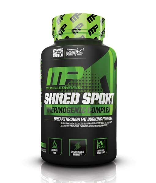 MusclePharm Shred Sport 60caps