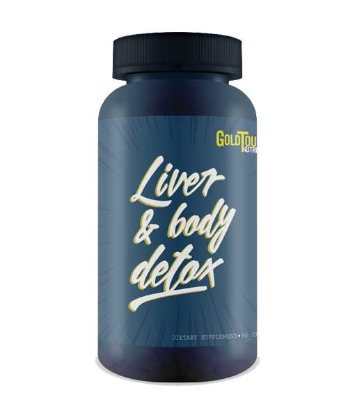 GOLD TOUCH Liver Body DETOX 30caps