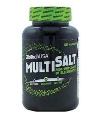 BioTech MULTISALT 60caps