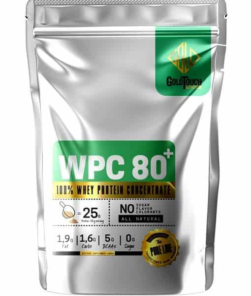 GOLD TOUCH Whey Protein Consentrate 80%