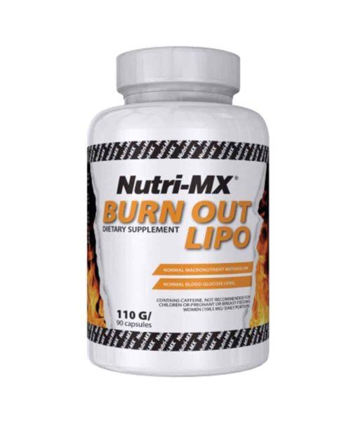 Nutri-MX Burn Out Lipo 90caps