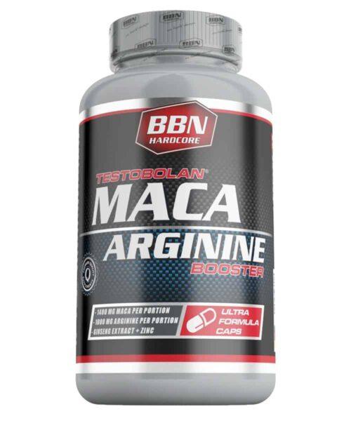 BBN Hardcore Testobolan Maca Arginine 100caps