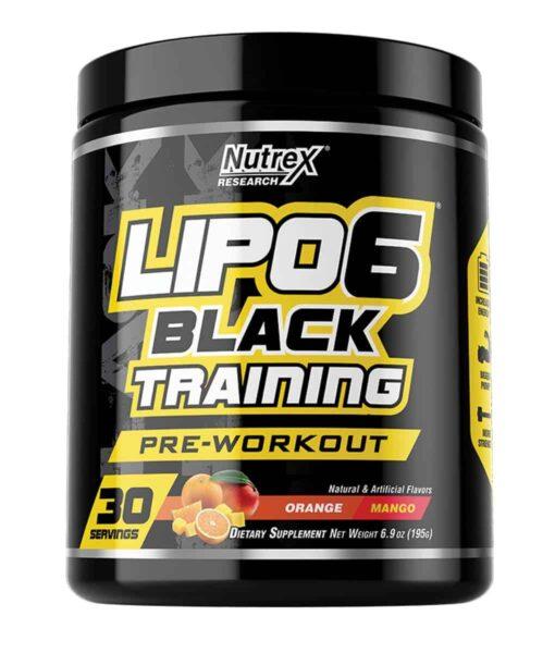 Nutrex Lipo-6 BLACK TRAINING